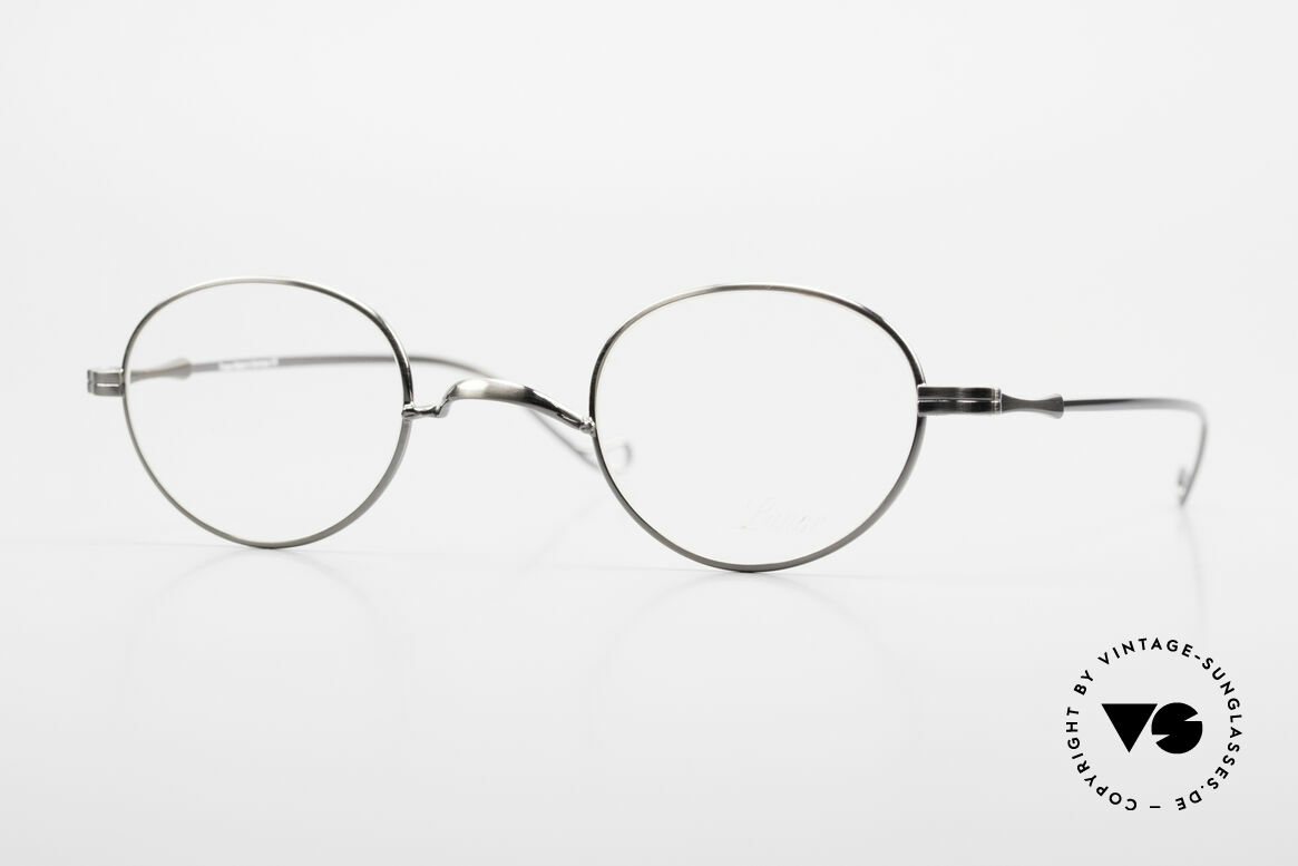 """Lunor II 21 Metal Frame Anatomic Bridge, Lunor: shortcut for French """"Lunette d'Or"""" (gold glasses), Made for Men and Women"""