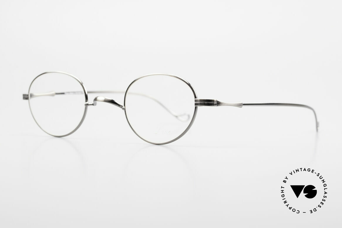 """Lunor II 21 Metal Frame Anatomic Bridge, well-known for the """"W-bridge"""" & the plain frame designs, Made for Men and Women"""