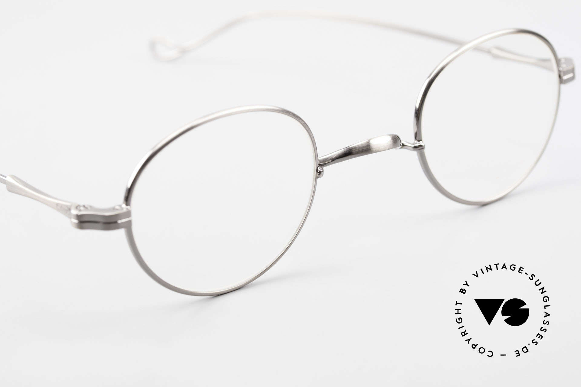 Lunor II 21 Metal Frame Anatomic Bridge, unworn RARITY (for all lovers of quality) from app. 2009, Made for Men and Women