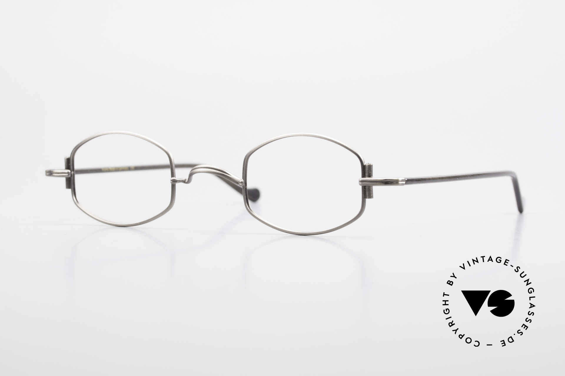 """Lunor XA 03 Extraordinary Eyeglass Design, Lunor: shortcut for French """"Lunette d'Or"""" (gold glasses), Made for Men and Women"""