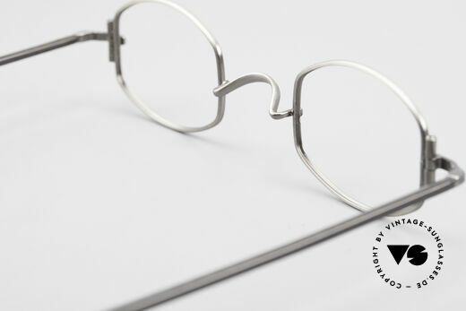 """Lunor XA 03 Extraordinary Eyeglass Design, the frame front / frame design looks like a """"LYING TON"""", Made for Men and Women"""