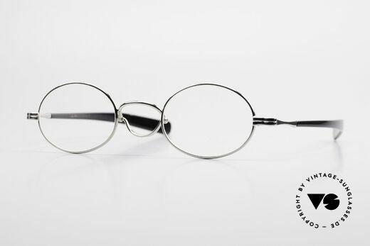 Lunor Swing A 33 Oval Swing Bridge Vintage Glasses Details