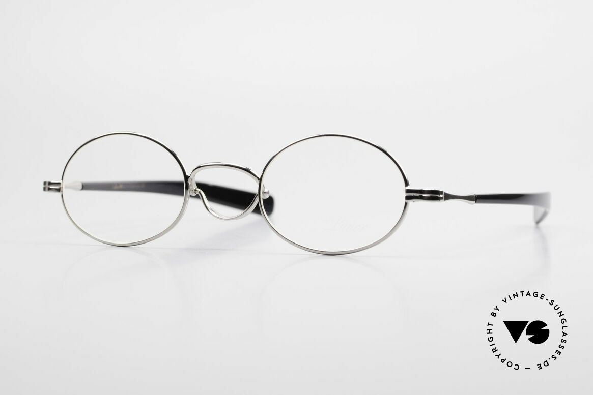 """Lunor Swing A 33 Oval Swing Bridge Vintage Glasses, LUNOR: shortcut for French """"Lunette d'Or"""" (gold glasses), Made for Men and Women"""