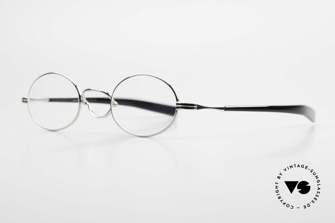 Lunor Swing A 33 Oval Swing Bridge Vintage Glasses, unworn RARITY (for all lovers of quality) in medium size, Made for Men and Women