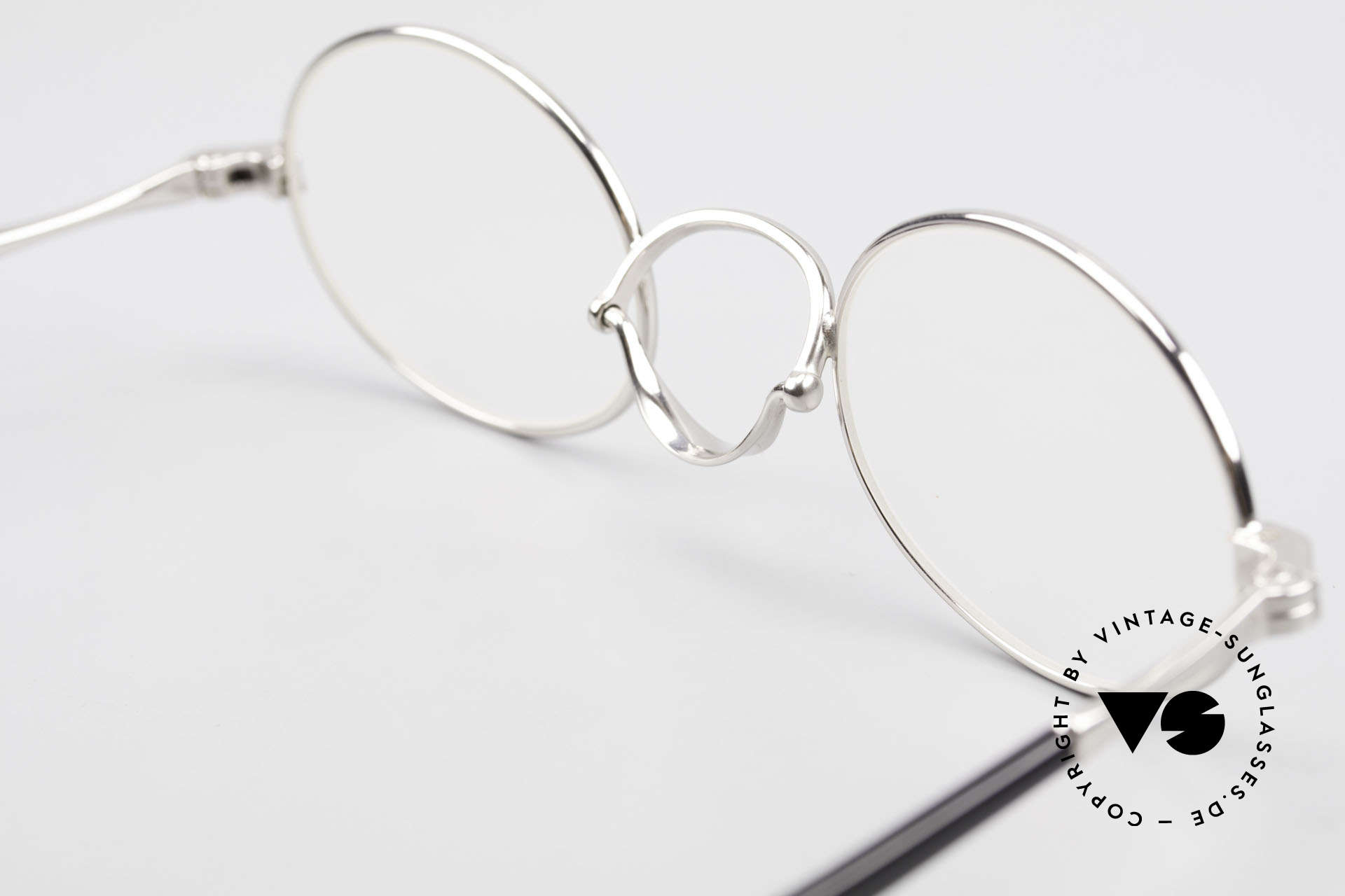 Lunor Swing A 33 Oval Swing Bridge Vintage Glasses, Size: medium, Made for Men and Women