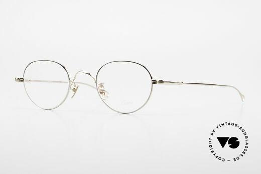 Lunor V 108 Bicolor Eyeglasses Titanium Details