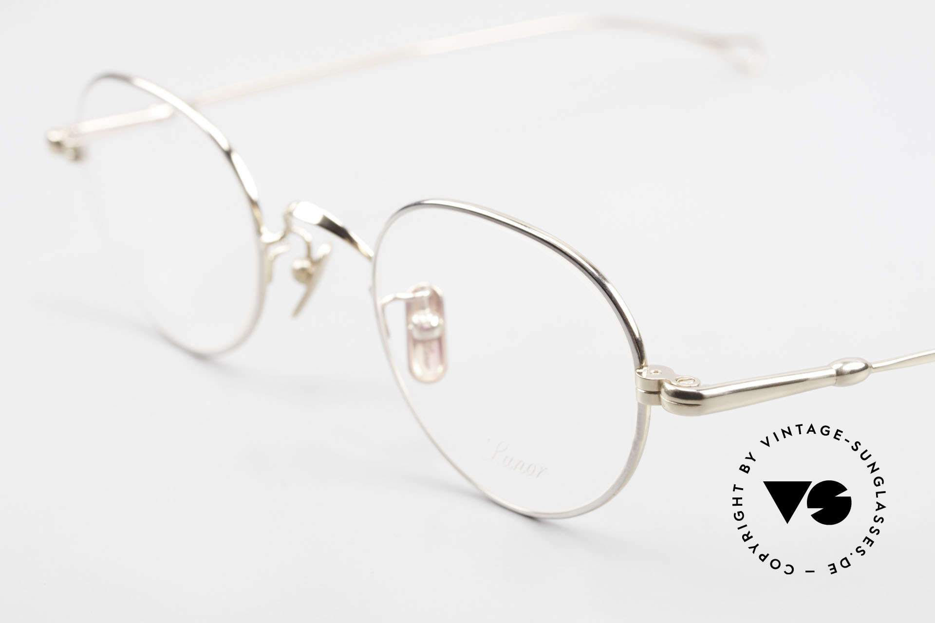 Lunor V 108 Bicolor Eyeglasses Titanium, from the 2011's collection, but in a well-known quality, Made for Men