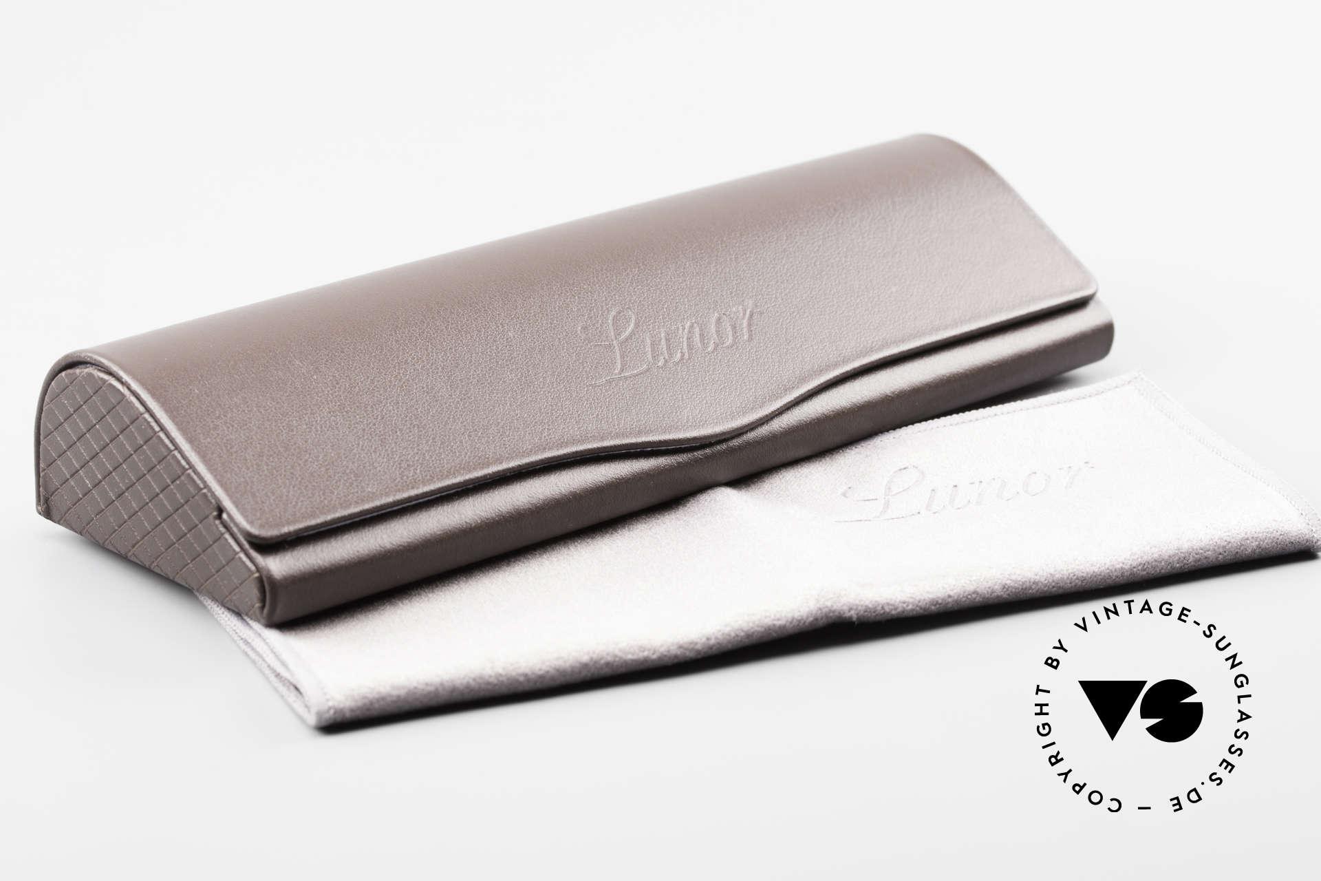 Lunor V 108 Panto Frame Platinum Plated, Size: medium, Made for Men