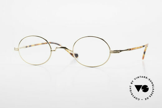 Lunor II A 10 Oval Vintage Frame Gold Plated Details