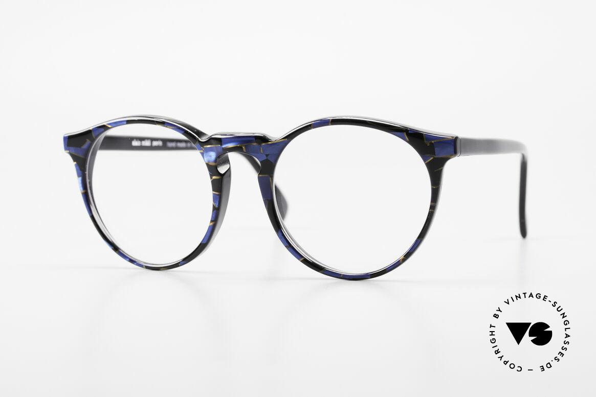 Alain Mikli 034 / 898 Panto Designer Eyeglasses, timeless vintage Alain Mikli designer eyeglasses, Made for Men and Women