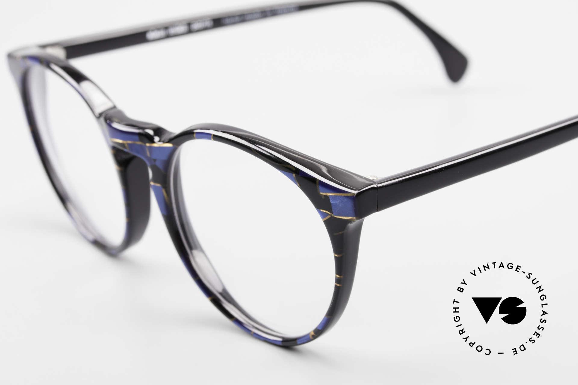 Alain Mikli 034 / 898 Panto Designer Eyeglasses, never worn (like all our vintage Alain Mikli specs), Made for Men and Women
