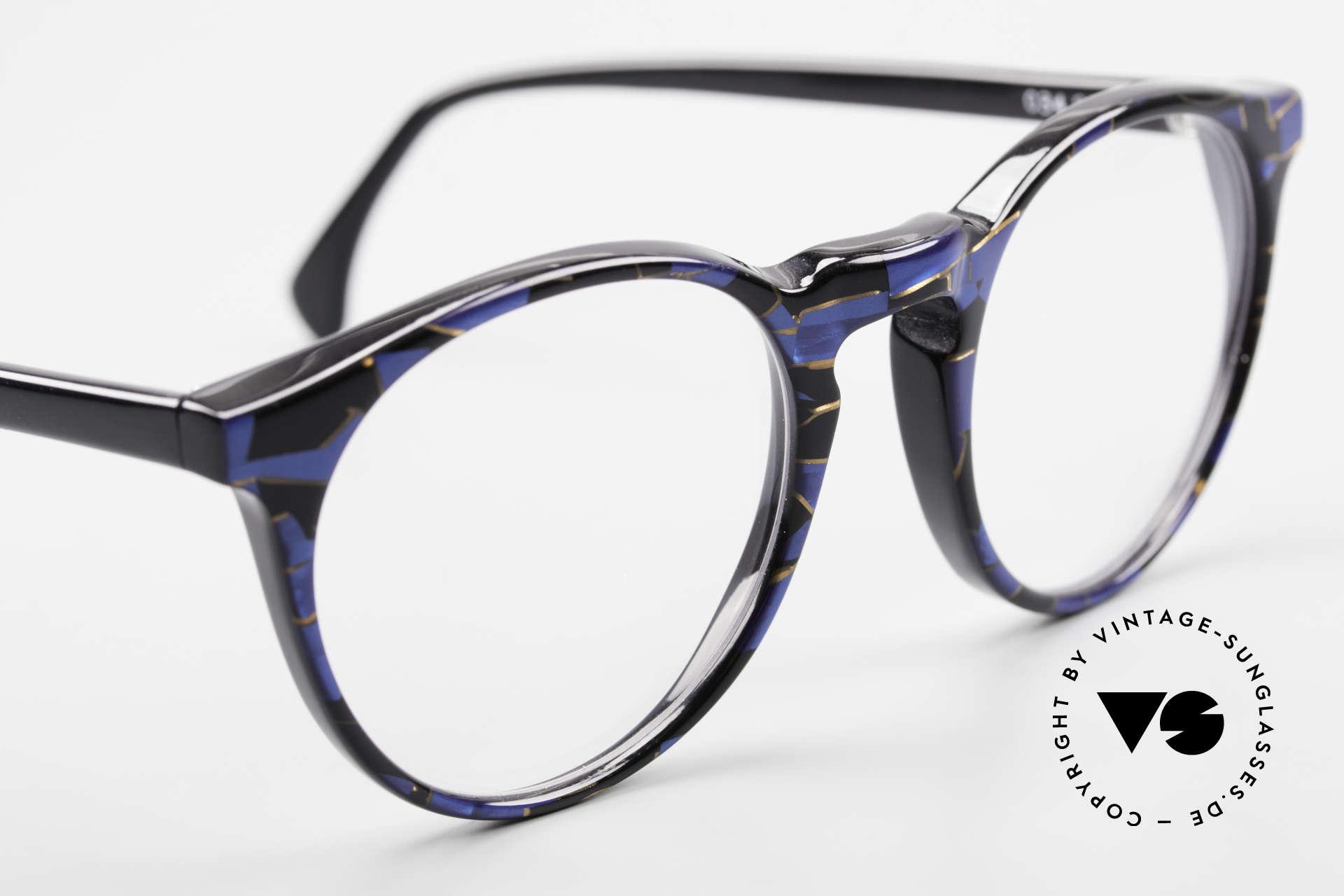 Alain Mikli 034 / 898 Panto Designer Eyeglasses, NO RETRO frame, but an old ORIGINAL from 1989, Made for Men and Women