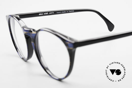Alain Mikli 034 / 898 Panto Designer Eyeglasses, the demo lenses can be replaced with prescriptions, Made for Men and Women