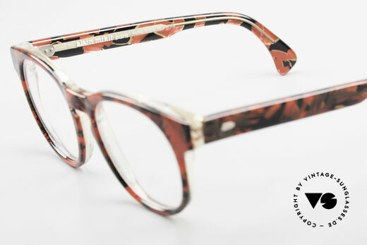 Alain Mikli 903 / 687 Patterned 80's Panto Glasses, NO RETRO eyewear, but an old Original from 1989, Made for Men and Women