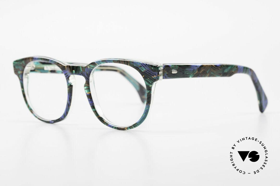 Alain Mikli 903 / 688 Panto Frame 80's Patterned, inspired by the 1960's 'Tart Optical Arnel' frames, Made for Men and Women