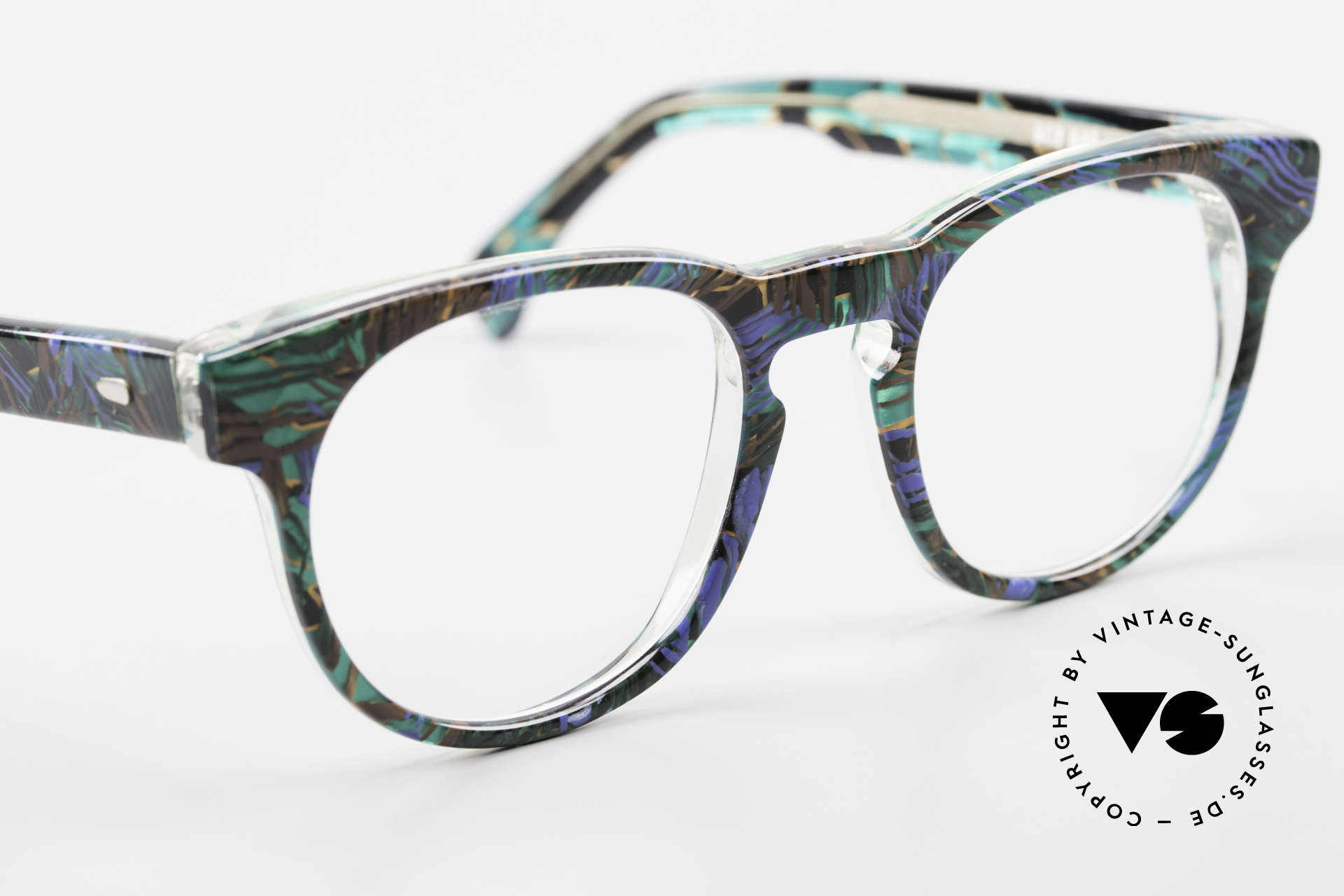 Alain Mikli 903 / 688 Panto Frame 80's Patterned, never worn (like all our vintage Alain Mikli specs), Made for Men and Women