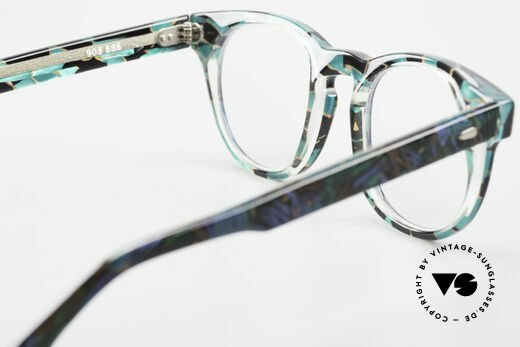 Alain Mikli 903 / 688 Panto Frame 80's Patterned, NO RETRO eyewear, but an old Original from 1989, Made for Men and Women