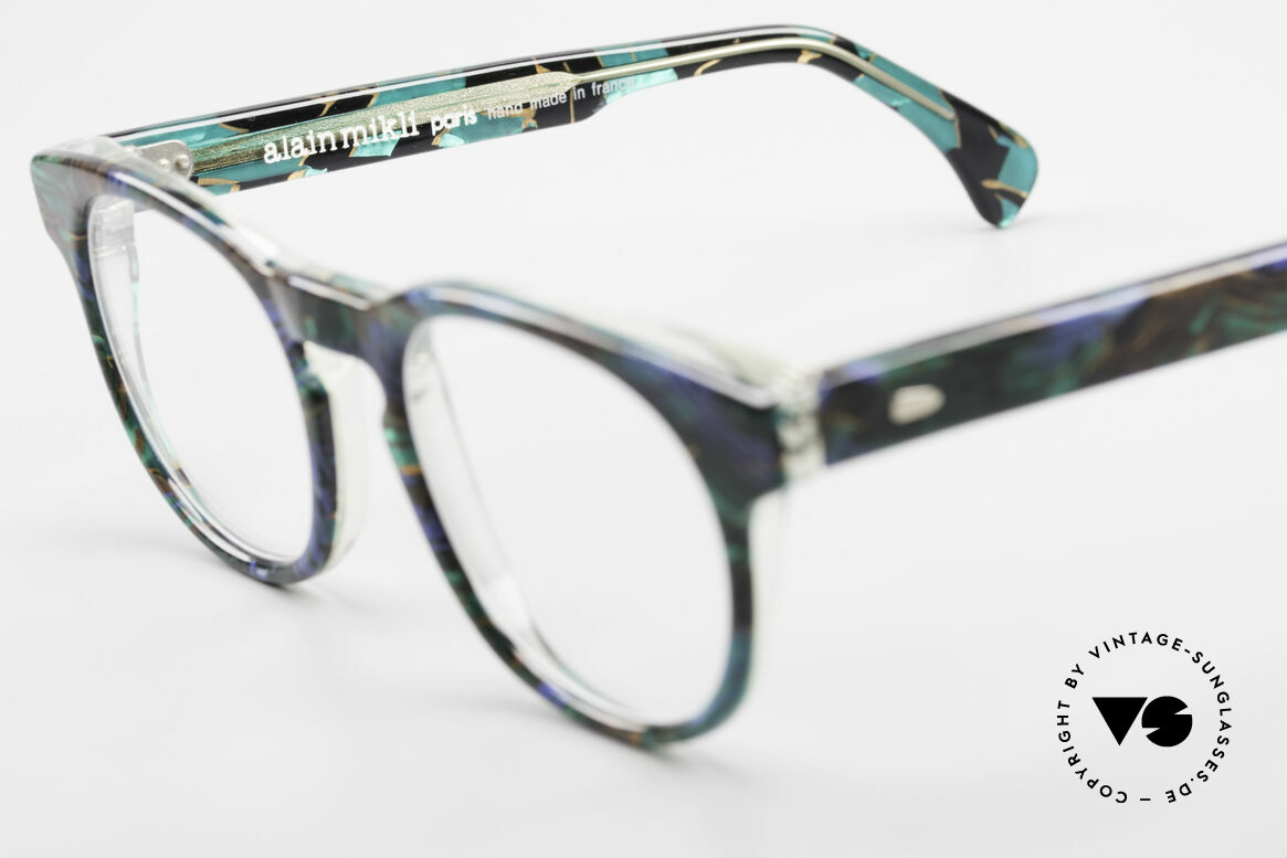 Alain Mikli 903 / 688 Panto Frame 80's Patterned, Size: small, Made for Men and Women