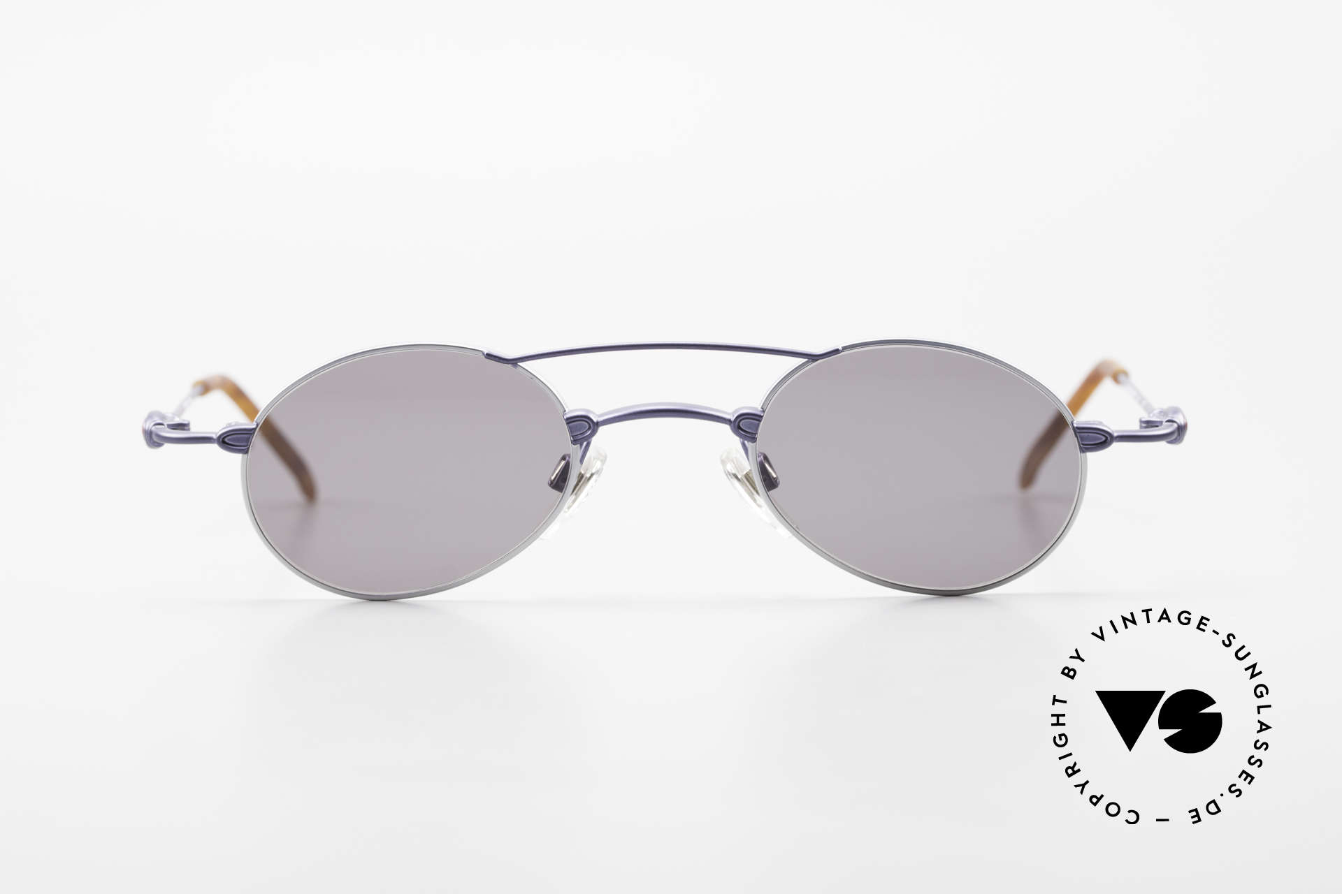 Bugatti 10864 Oval Vintage Sunglasses Men, materials and craftsmanship on top level; size 44°23, Made for Men