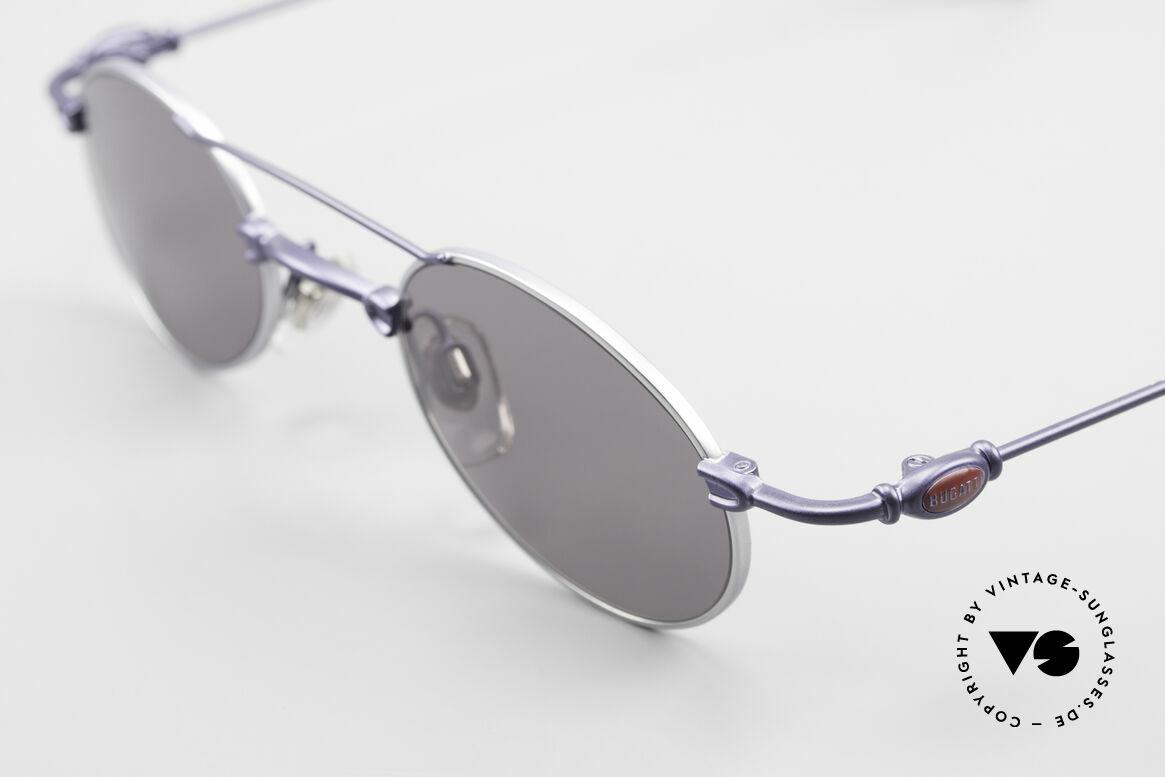 Bugatti 10864 Oval Vintage Sunglasses Men, unworn rarity of the late 90's (incl. Bugatti hard case), Made for Men