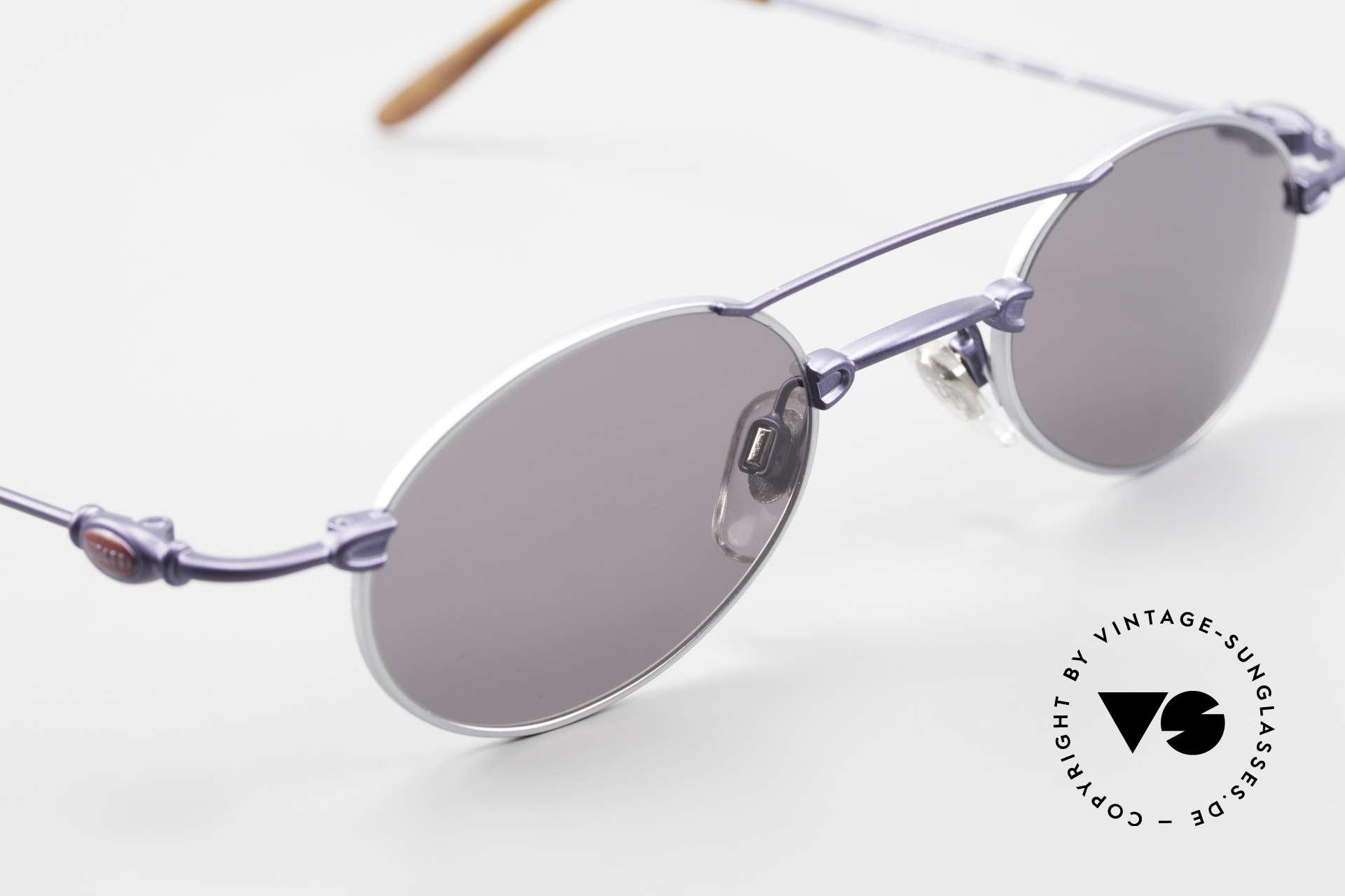 Bugatti 10864 Oval Vintage Sunglasses Men, NO RETRO fashion, but a unique 25 years old original, Made for Men