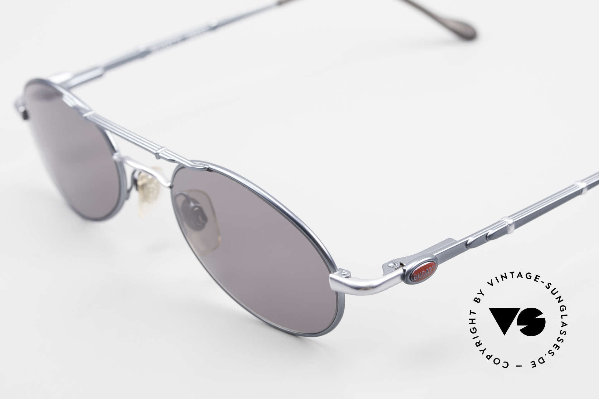 Bugatti 09953 Leaf Spring Temples and Bridge, bridge & temples are shaped like a leaf spring, Made for Men