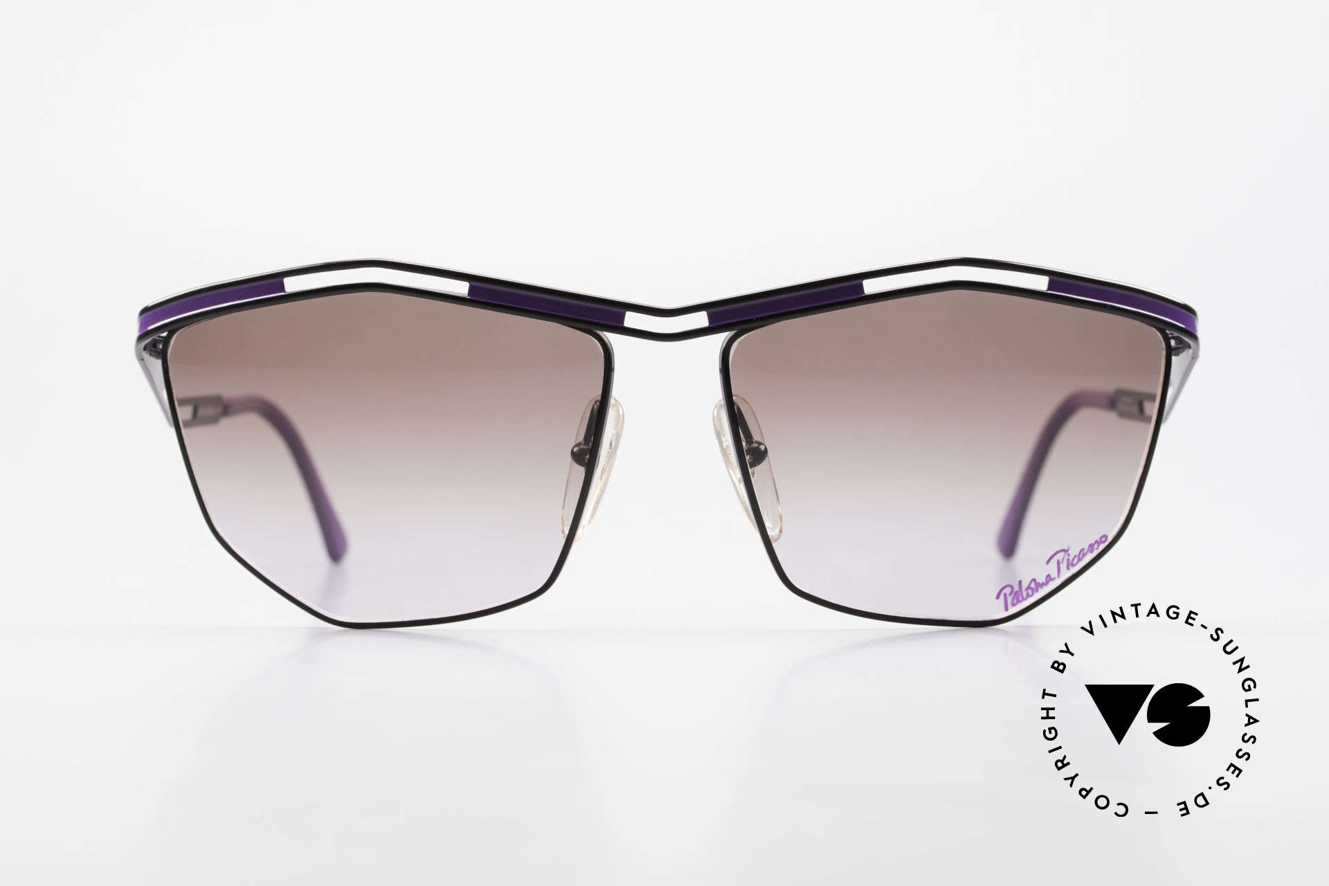 Paloma Picasso 1478 Rare 1990's Ladies Sunglasses, Paloma is the youngest daughter of Pablo Picasso, Made for Women
