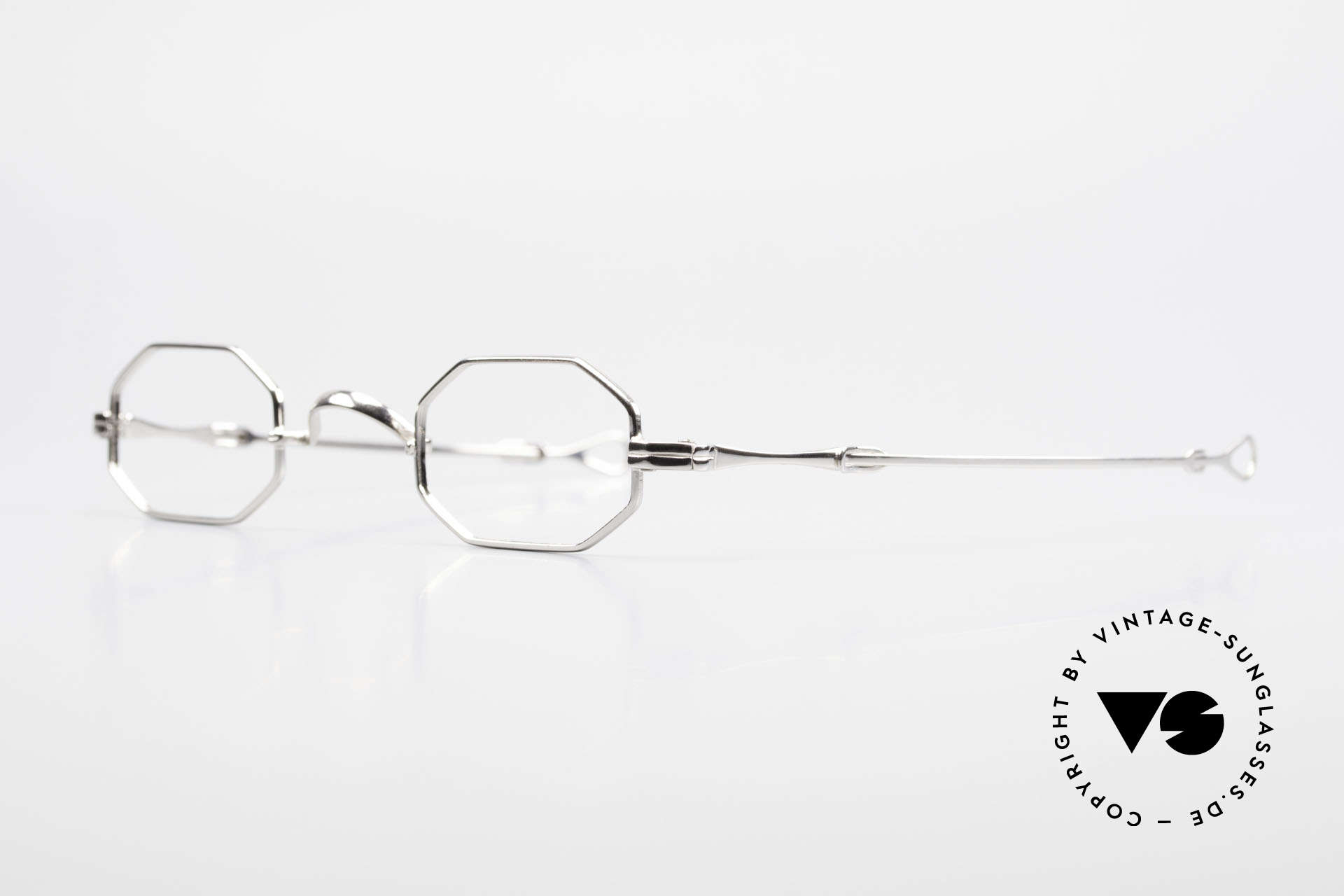 "Lunor I 01 Telescopic Extendable Octagonal Frame, well-known for the ""W-bridge"" & the plain frame designs, Made for Men and Women"