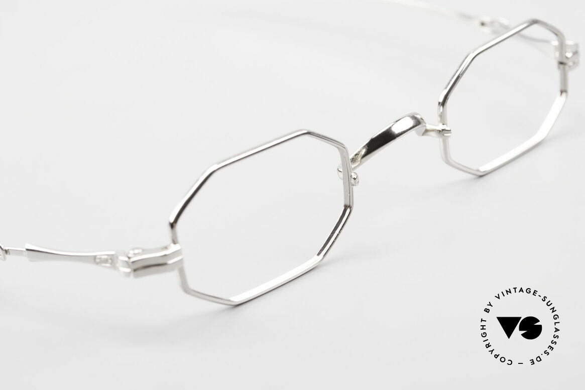 Lunor I 01 Telescopic Extendable Octagonal Frame, unworn RARITY (for all lovers of quality) from app. 1996, Made for Men and Women