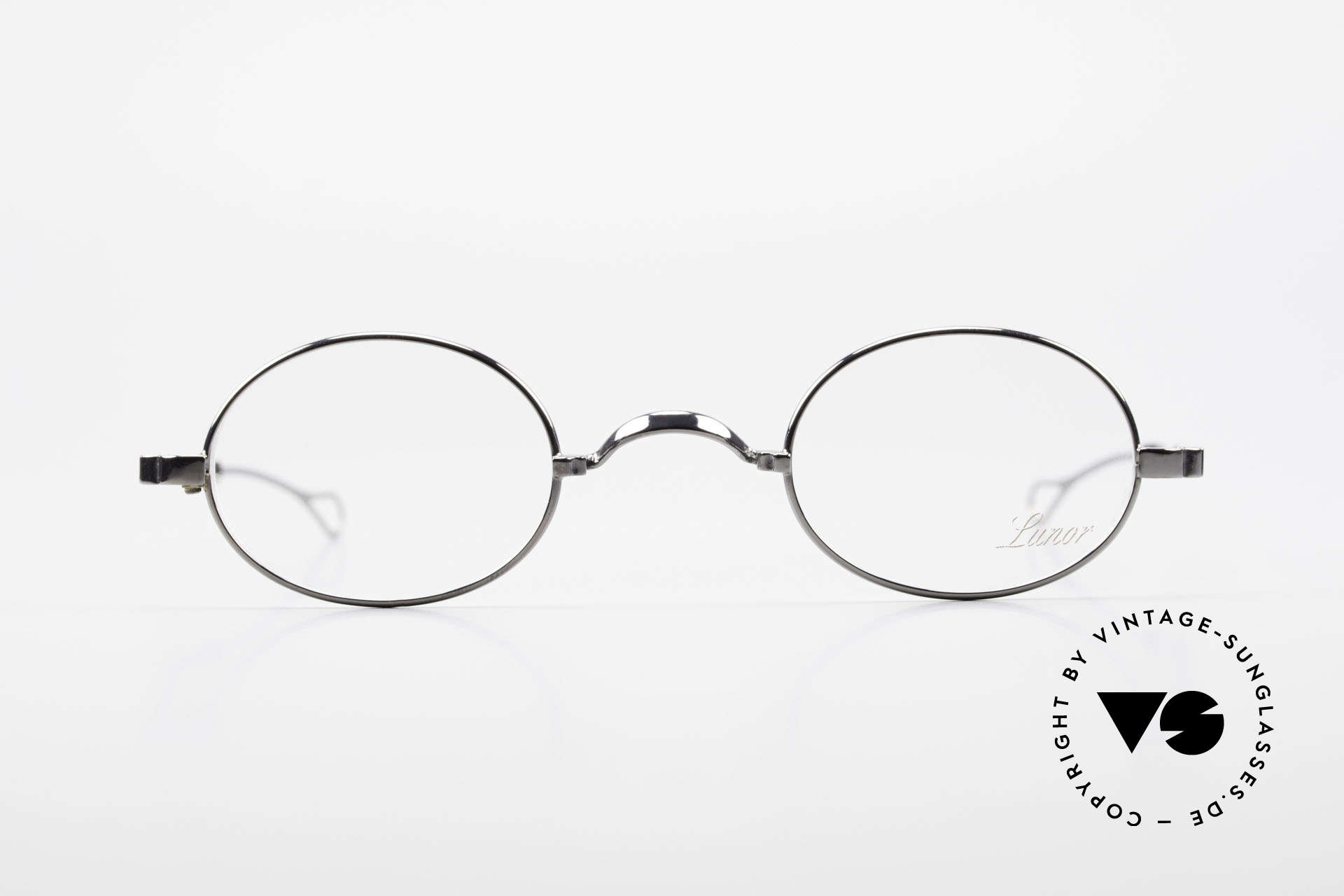 Lunor I 22 Telescopic Oval Frame Extendable Arms, traditional German brand; quality handmade in Germany, Made for Men and Women