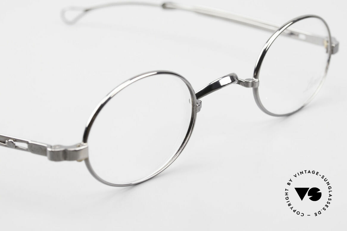 Lunor I 22 Telescopic Oval Frame Extendable Arms, unworn RARITY (for all lovers of quality) from app. 1996, Made for Men and Women