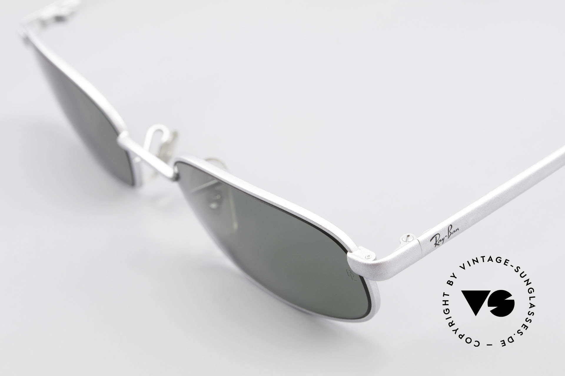 "Ray Ban Sidestreet Sidewalk Rectangle Ray Ban USA Shades, still ""made in USA"" quality (lenses with B&L etching), Made for Men"
