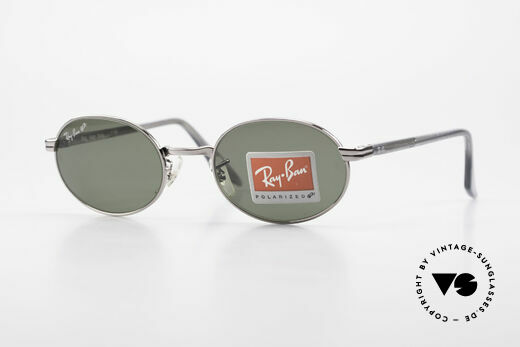 Ray Ban Sidestreet Diner Oval Polarized USA B&L Sunglasses Details