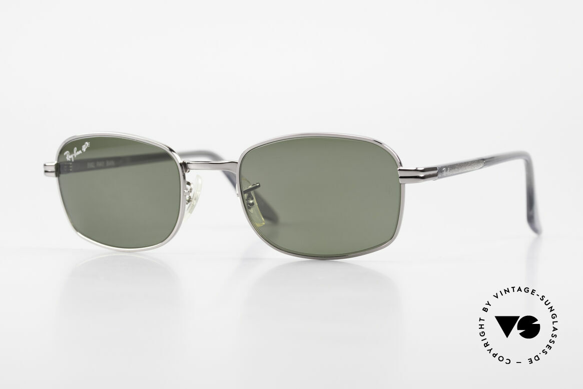 """Ray Ban Sidestreet Crosswalk Square Polarized B&L Shades, old Ray-Ban 'SideStreet-Series"""" sunglasses from 1999, Made for Men"""
