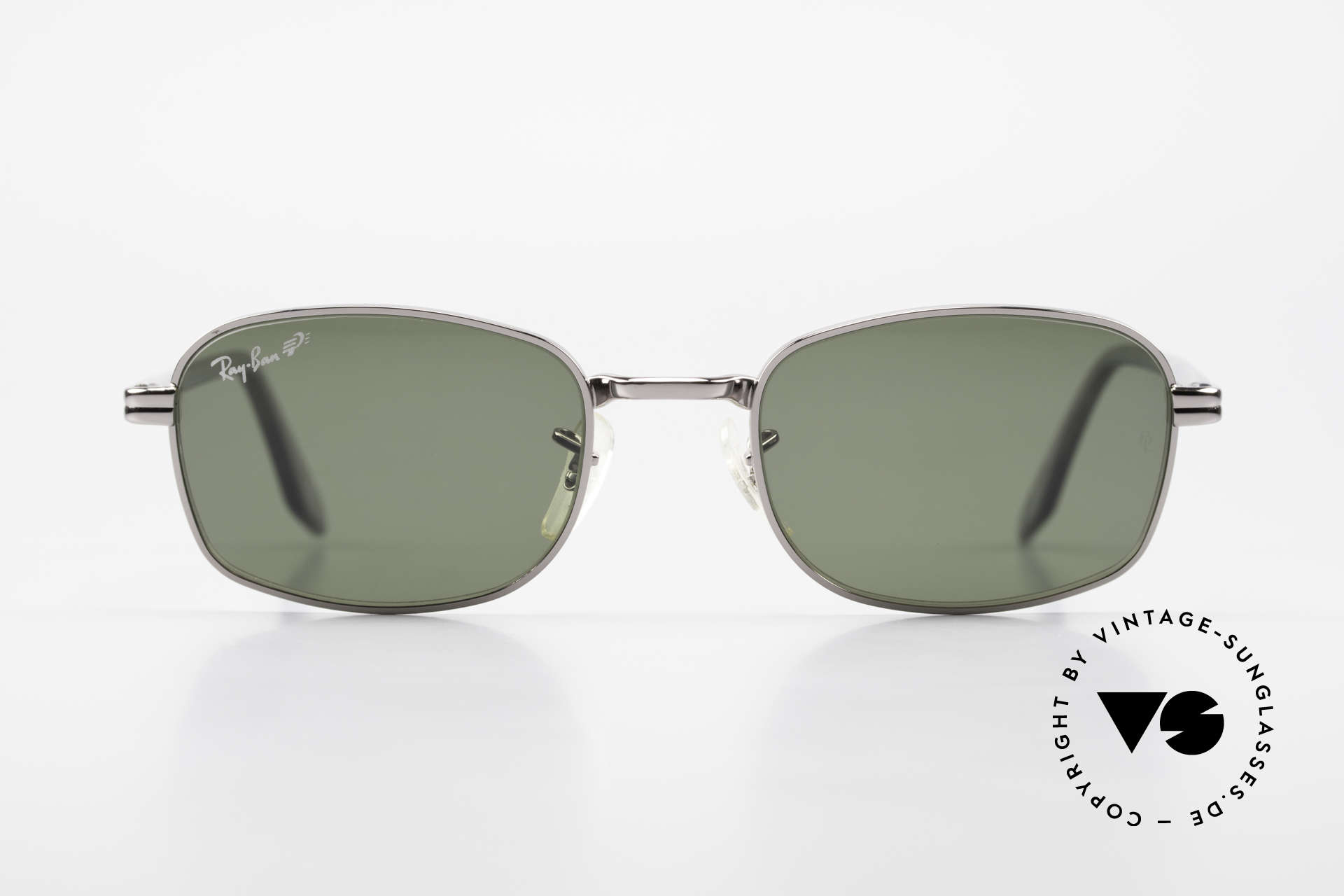 Ray Ban Sidestreet Crosswalk Square Polarized B&L Shades, one of the last models made by Bausch&Lomb, U.S.A., Made for Men