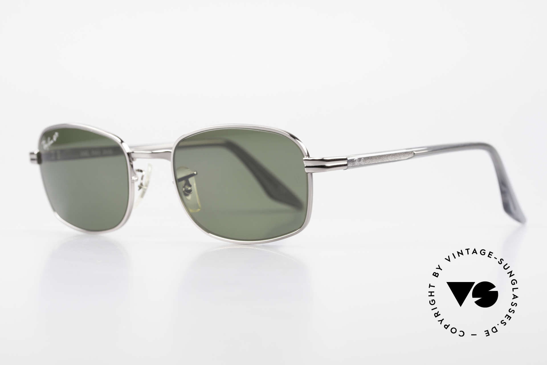 """Ray Ban Sidestreet Crosswalk Square Polarized B&L Shades, in 1999, B&L sold the brand """"RAY-BAN"""" to Luxottica, Made for Men"""