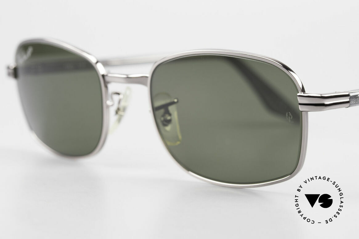 Ray Ban Sidestreet Crosswalk Square Polarized B&L Shades, very special shades, since a piece of economic history, Made for Men