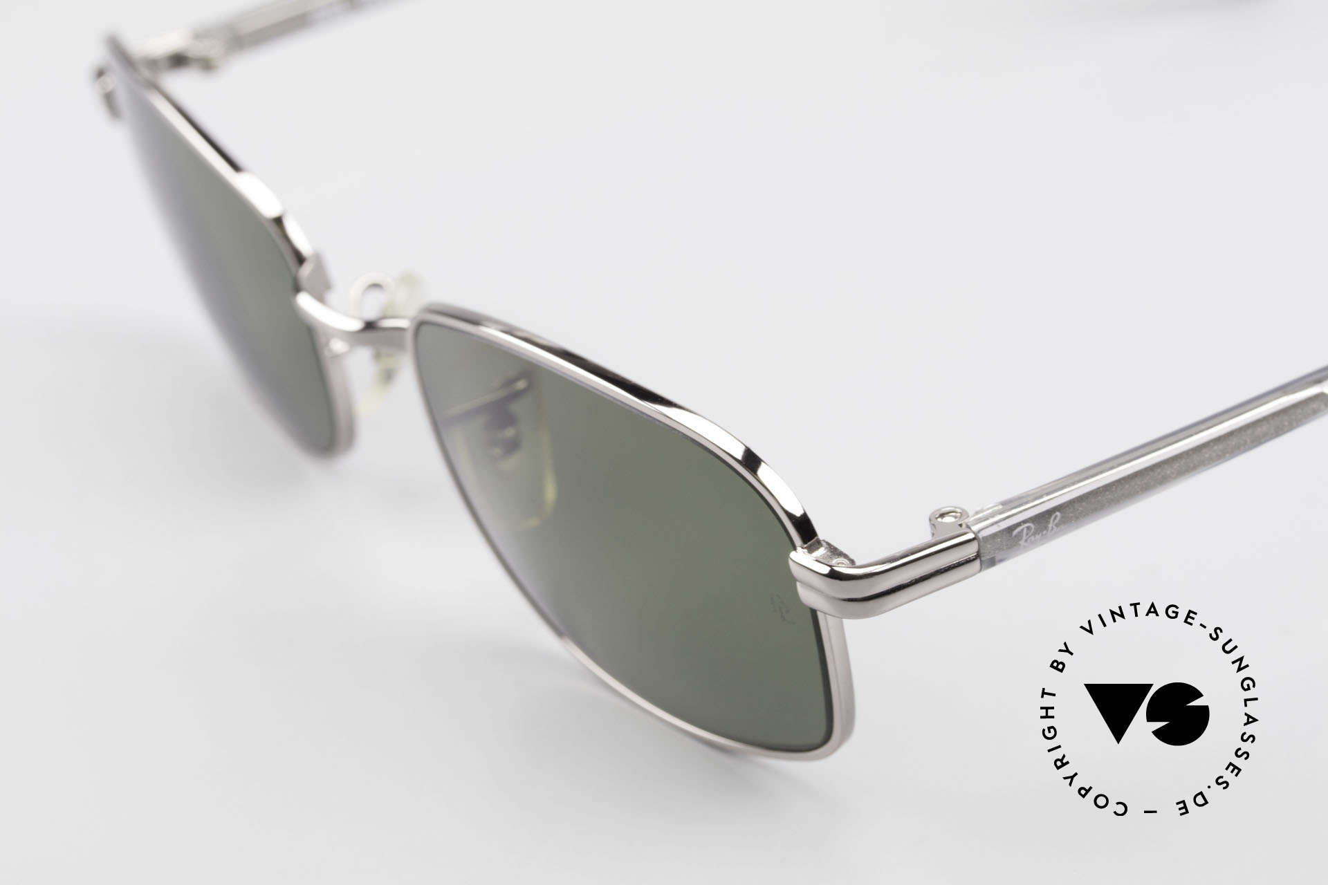 """Ray Ban Sidestreet Crosswalk Square Polarized B&L Shades, still """"made in USA"""" quality (non-reflecting B&L lenses), Made for Men"""