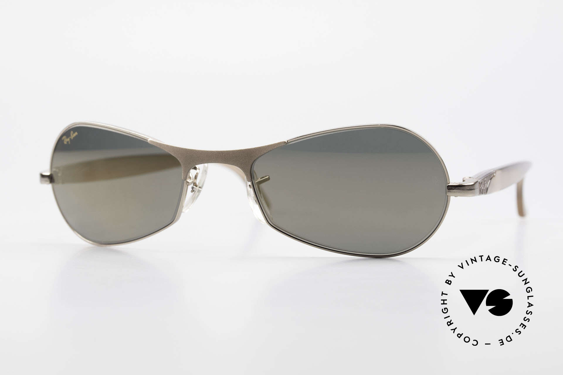 """Ray Ban Sidestreet Infinity Gold Mirrored USA Ray-Ban B&L, old Ray-Ban 'SideStreet-Series"""" sunglasses from 1999, Made for Men"""