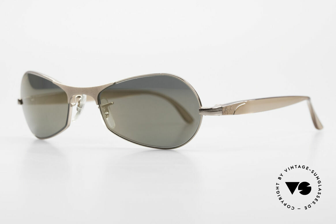 """Ray Ban Sidestreet Infinity Gold Mirrored USA Ray-Ban B&L, in 1999, B&L sold the brand """"RAY-BAN"""" to Luxottica, Made for Men"""
