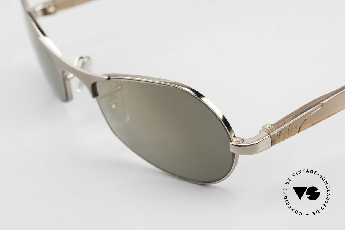 """Ray Ban Sidestreet Infinity Gold Mirrored USA Ray-Ban B&L, still """"made in USA"""" quality (mineral lenses by B&L), Made for Men"""