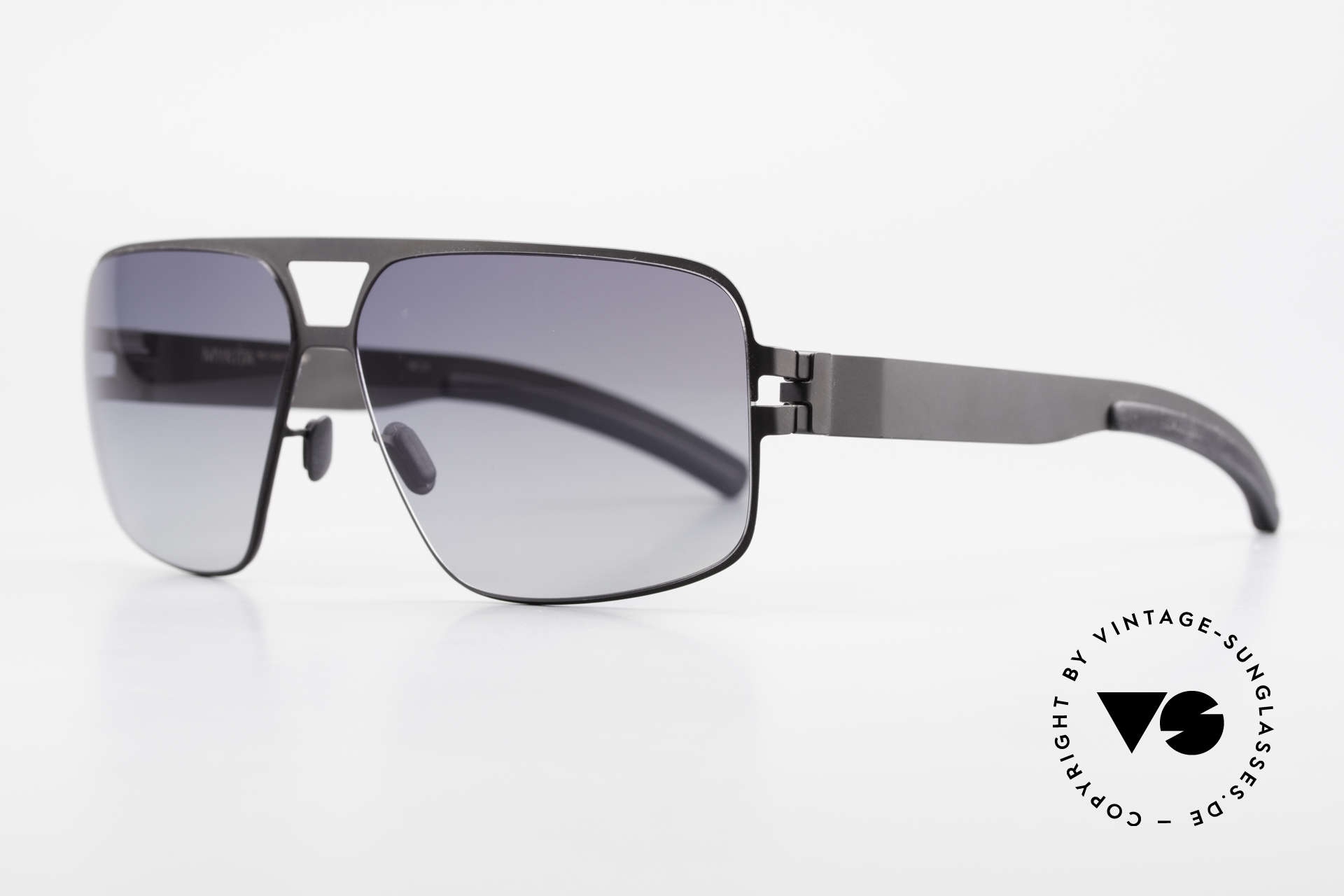 Mykita Tyrone Mykita Vintage Frame From 2011, Mod. No.1 Sun Tyrone Black, black-gradient, size 60/12, Made for Men