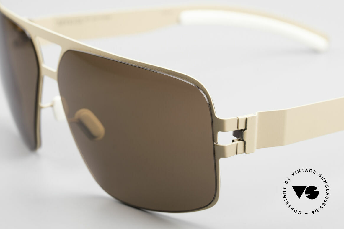 Mykita Tyrone 2011's Mykita Vintage Shades, innovative and flexible metal frame = One size fits all!, Made for Men