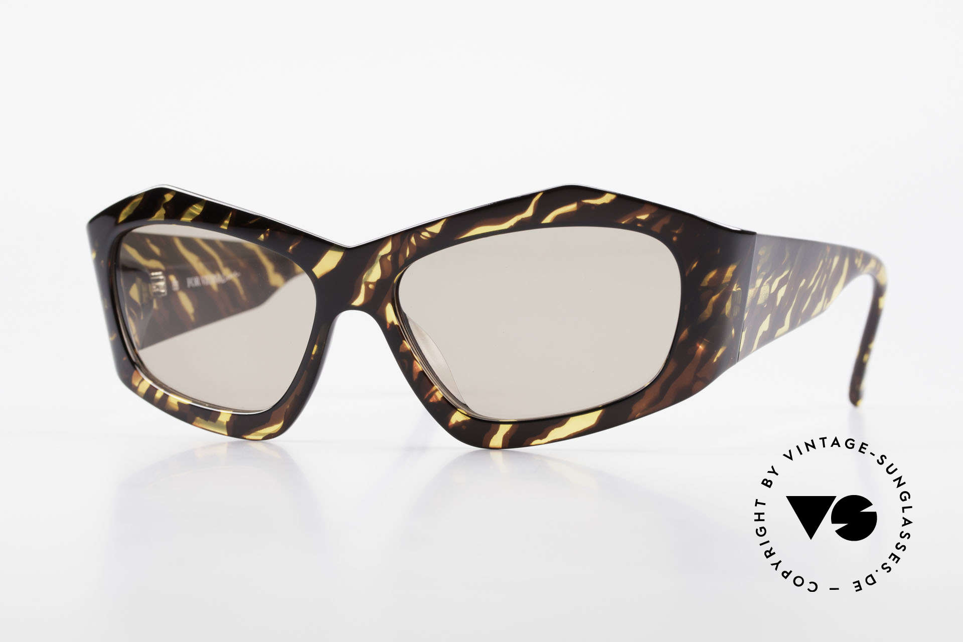 Paloma Picasso 1461 Case Can Be Used As Wallet, rare 1990's vintage sunglasses by Paloma PICASSO, Made for Women