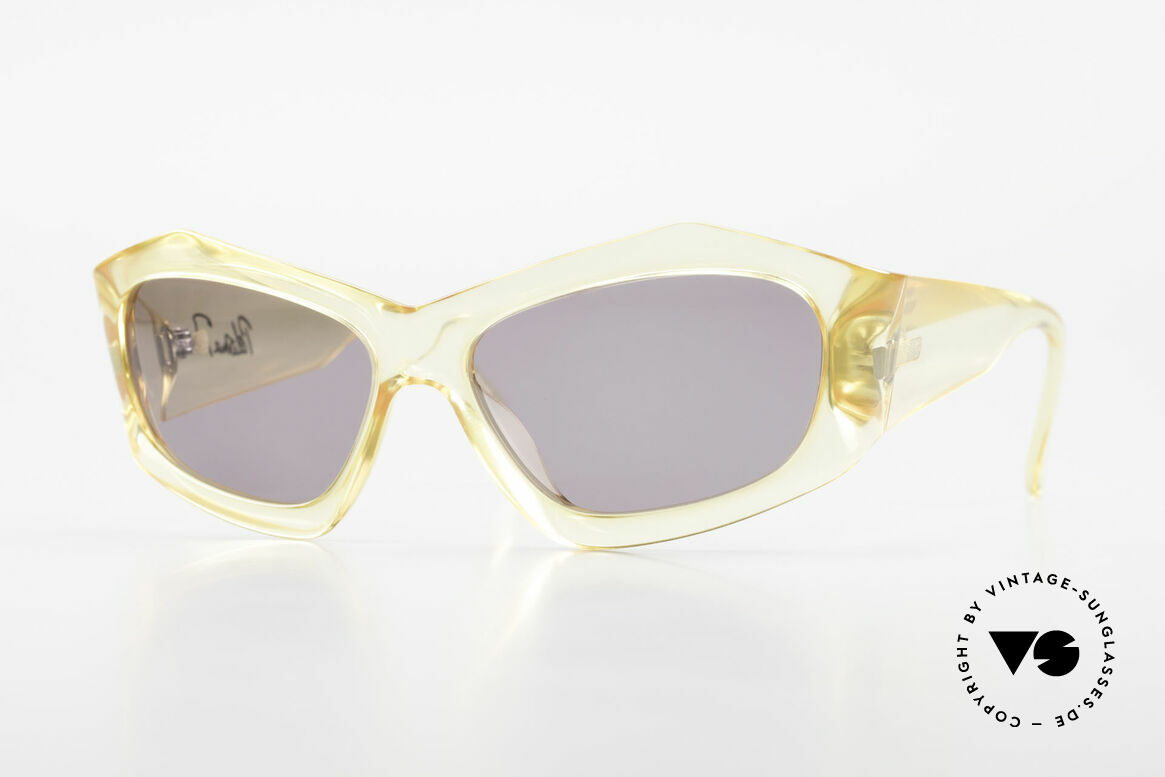 Paloma Picasso 1461 90's Case Can Be Used As Purse, rare 1990's vintage sunglasses by Paloma PICASSO, Made for Women