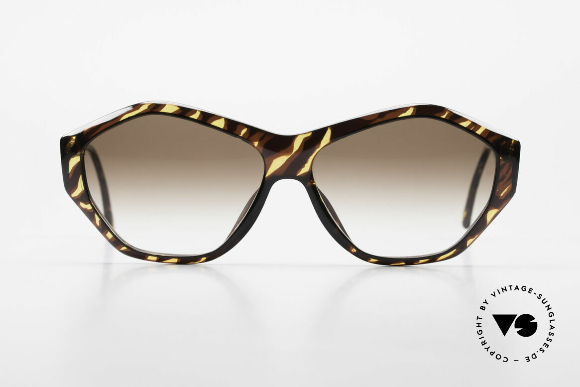 Paloma Picasso 1463 90's Optyl Sunglasses Ladies, spectacular design meets a brilliant frame pattern, Made for Women