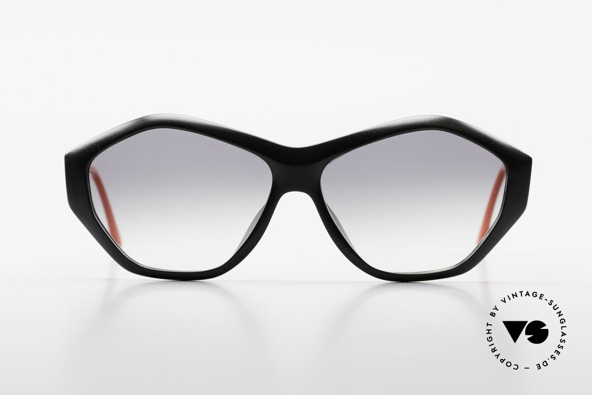 Paloma Picasso 1463 Ladies Sunglasses 90's Optyl, a spectacular frame design meets brilliant colors, Made for Women
