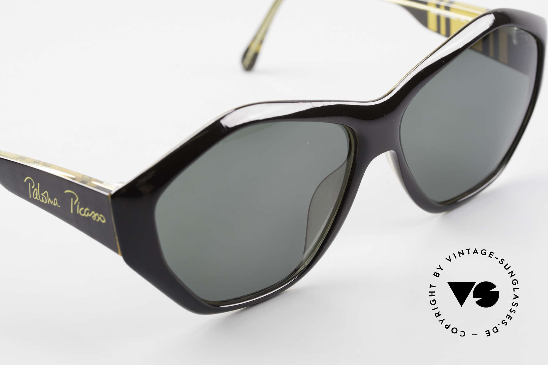 Paloma Picasso 1463 90's Ladies Sunglasses Optyl, fancy gimmick: the case can be used as wallet, too, Made for Women