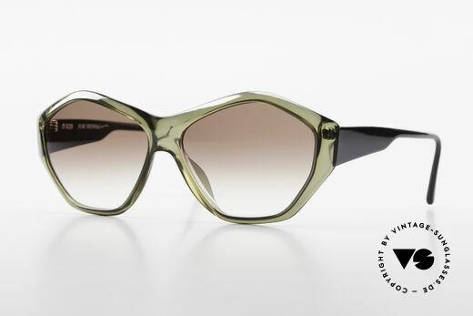 Paloma Picasso 1463 90's Optyl Ladies Sunglasses Details
