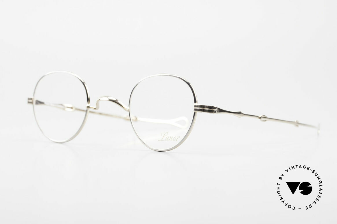 """Lunor I 15 Telescopic Extendable Slide Temple, well-known for the """"W-bridge"""" & the plain frame designs, Made for Men and Women"""